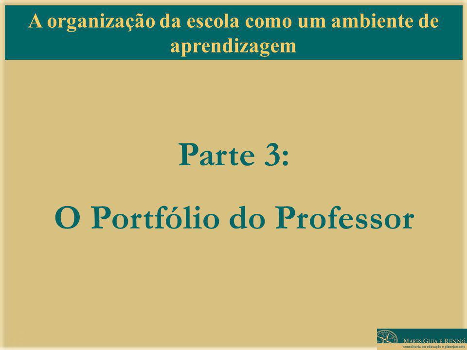 Parte 3: O Portfólio do Professor