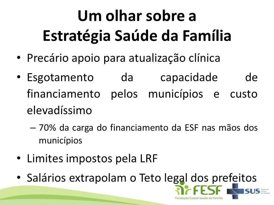 Um olhar sobre a Estratégia Saúde da Família
