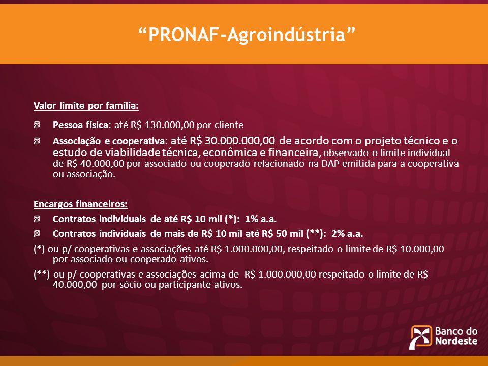 PRONAF-Agroindústria