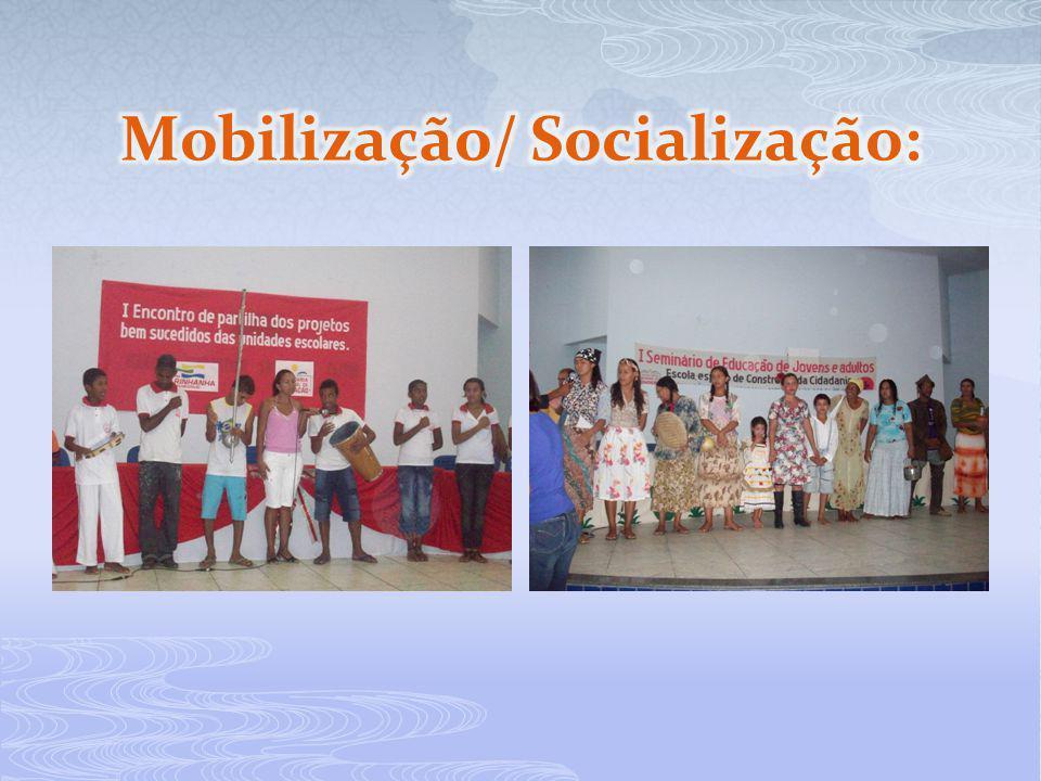Mobilização/ Socialização: