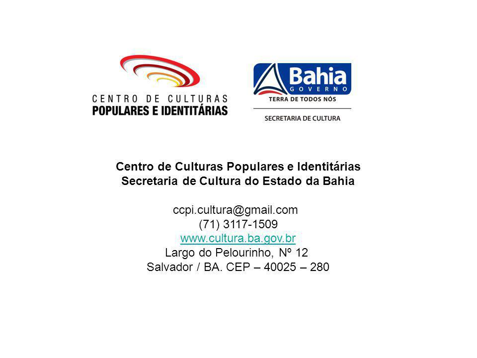 Secretaria de Cultura do Estado da Bahia
