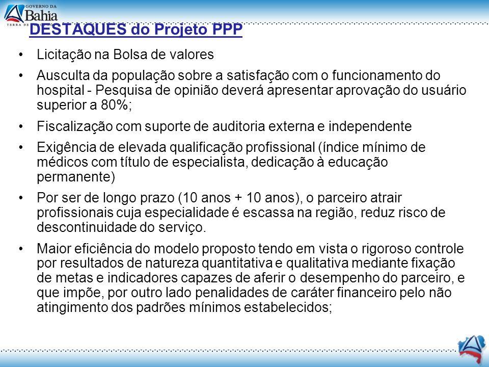 DESTAQUES do Projeto PPP