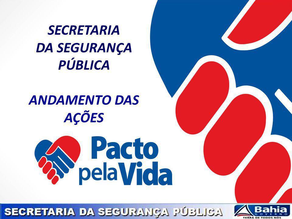 SECRETARIA DA SEGURANÇA PÚBLICA ANDAMENTO DAS AÇÕES