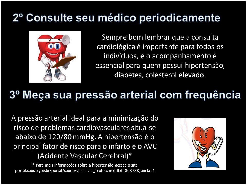 2º Consulte seu médico periodicamente