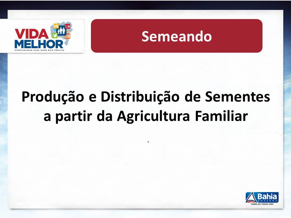 Produção e Distribuição de Sementes a partir da Agricultura Familiar
