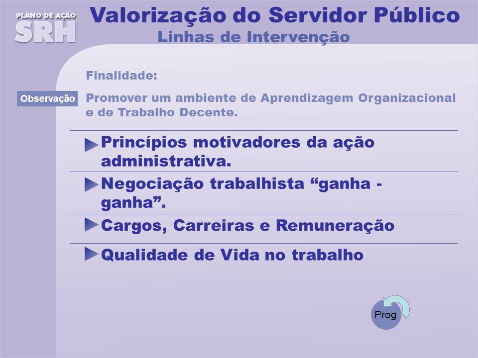 Valorização do Servidor Público