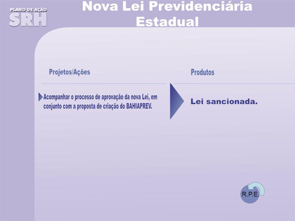 Nova Lei Previdenciária Estadual