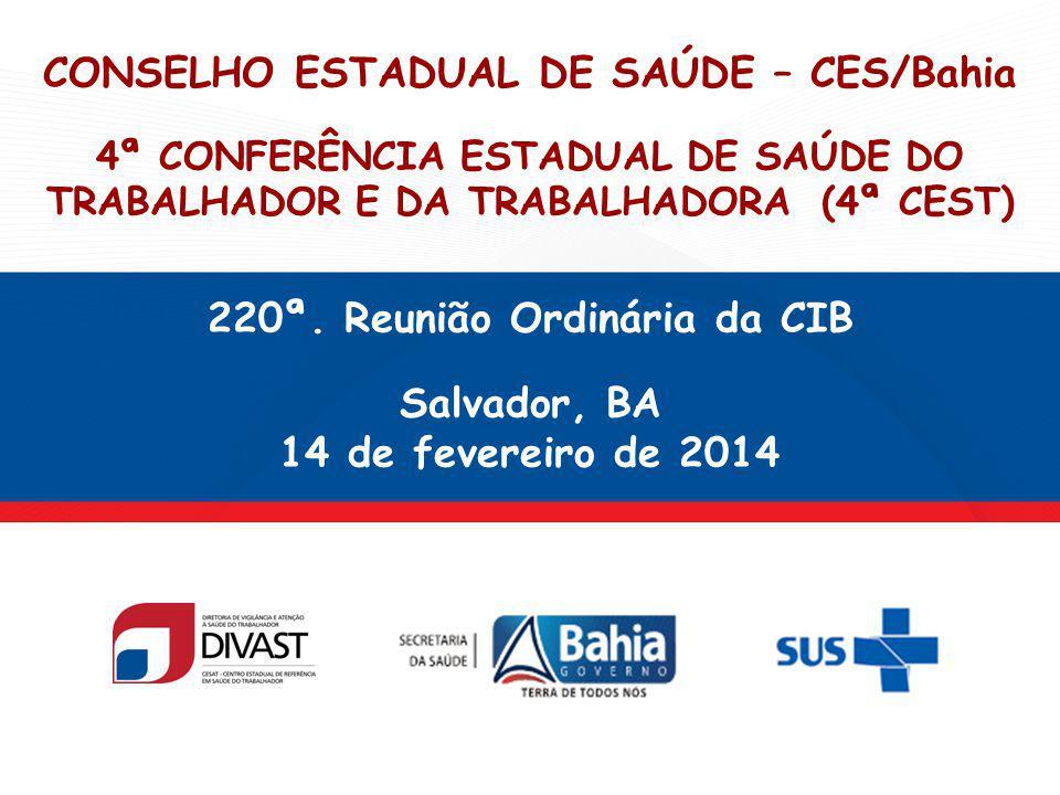 220ª. Reunião Ordinária da CIB