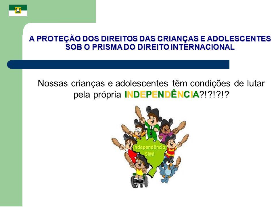 A PROTEÇÃO DOS DIREITOS DAS CRIANÇAS E ADOLESCENTES SOB O PRISMA DO DIREITO INTERNACIONAL