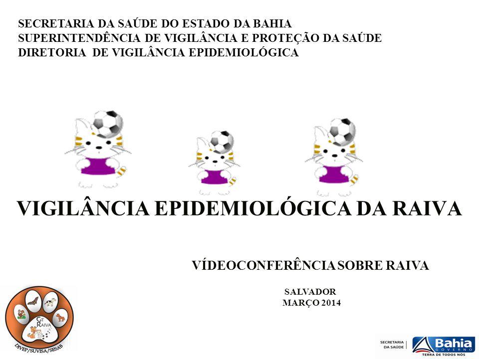 VIGILÂNCIA EPIDEMIOLÓGICA DA RAIVA