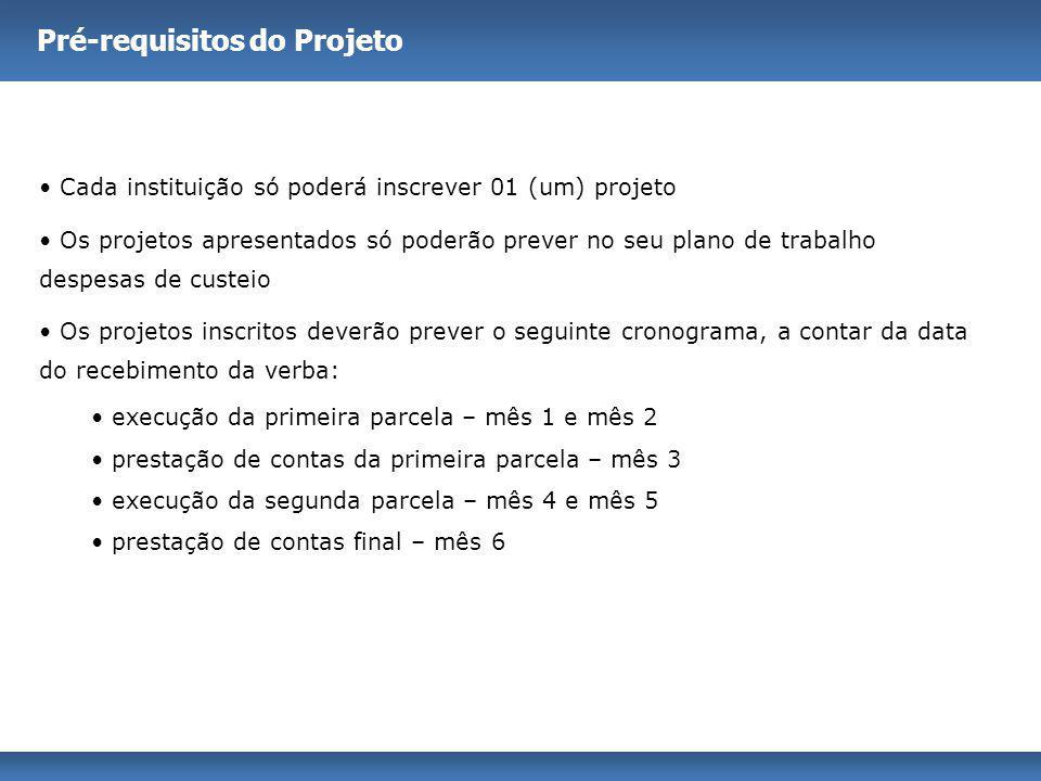 Pré-requisitos do Projeto