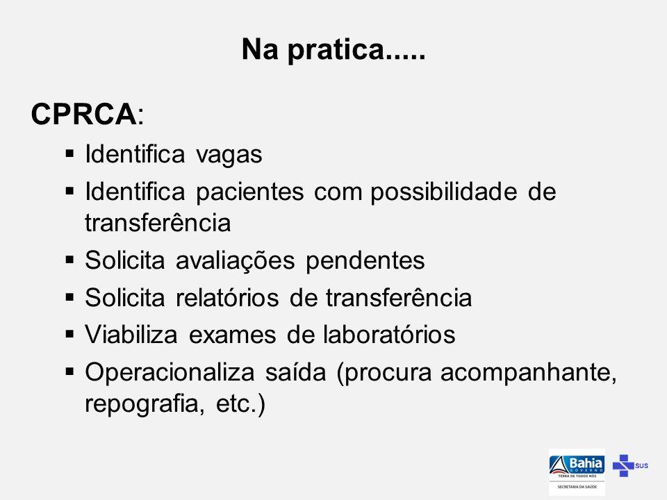 Na pratica..... CPRCA: Identifica vagas