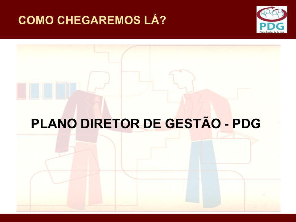 PLANO DIRETOR DE GESTÃO - PDG