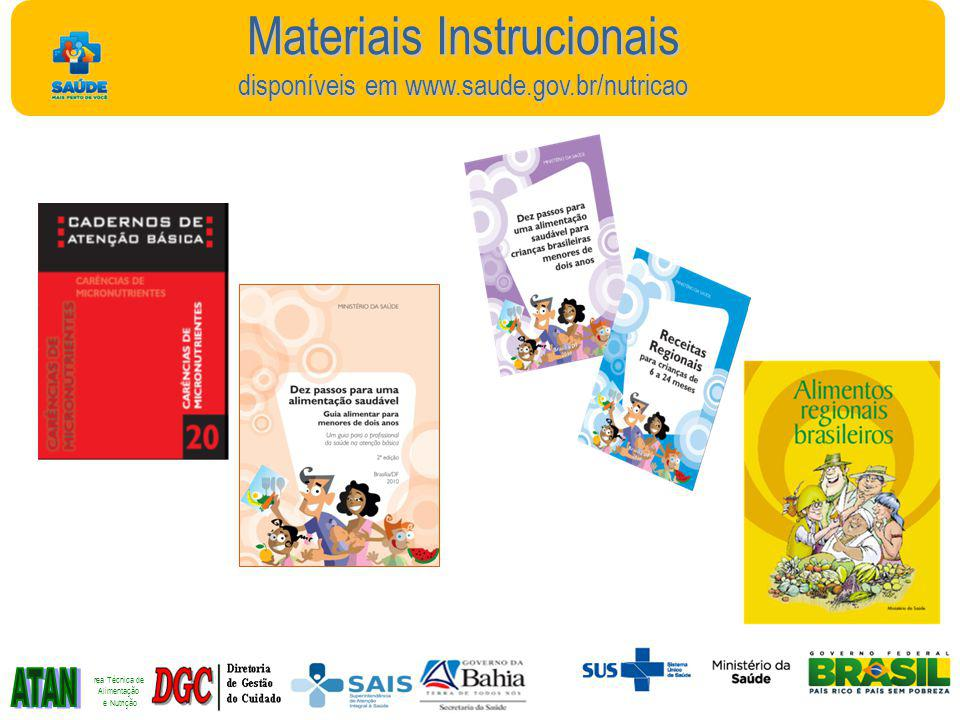Materiais Instrucionais