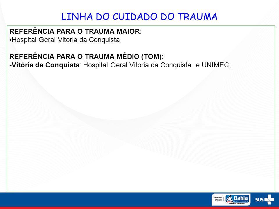 LINHA DO CUIDADO DO TRAUMA
