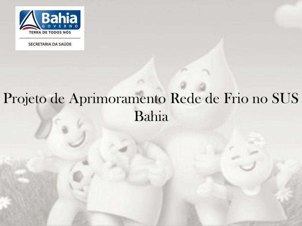 Projeto de Aprimoramento Rede de Frio no SUS Bahia