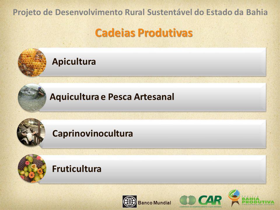 Cadeias Produtivas Apicultura Aquicultura e Pesca Artesanal