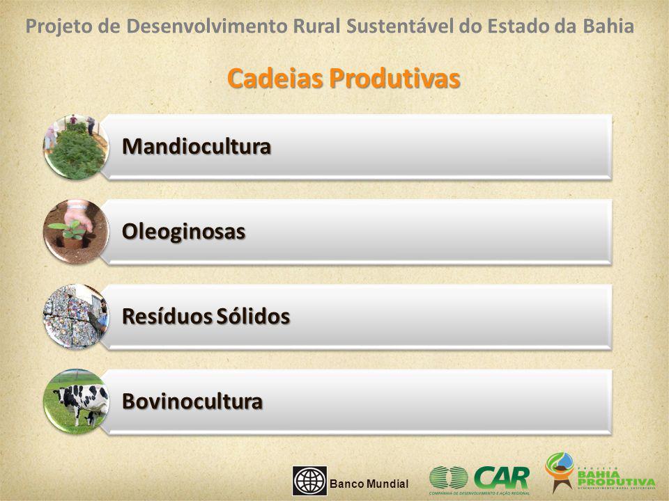 Cadeias Produtivas Mandiocultura Oleoginosas Resíduos Sólidos