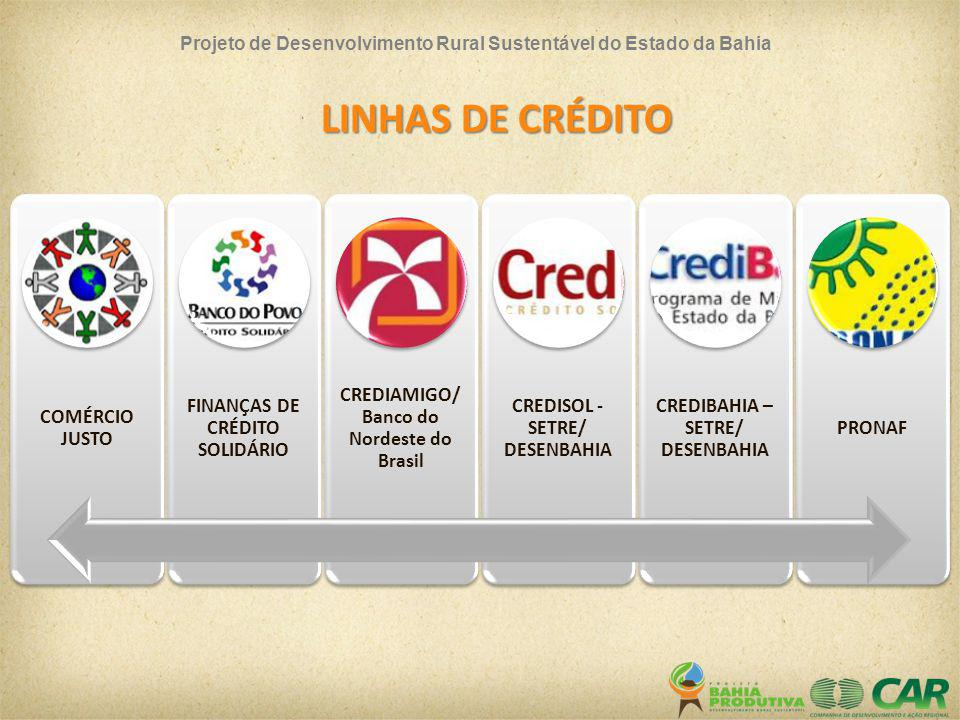 LINHAS DE CRÉDITO COMÉRCIO JUSTO FINANÇAS DE CRÉDITO SOLIDÁRIO