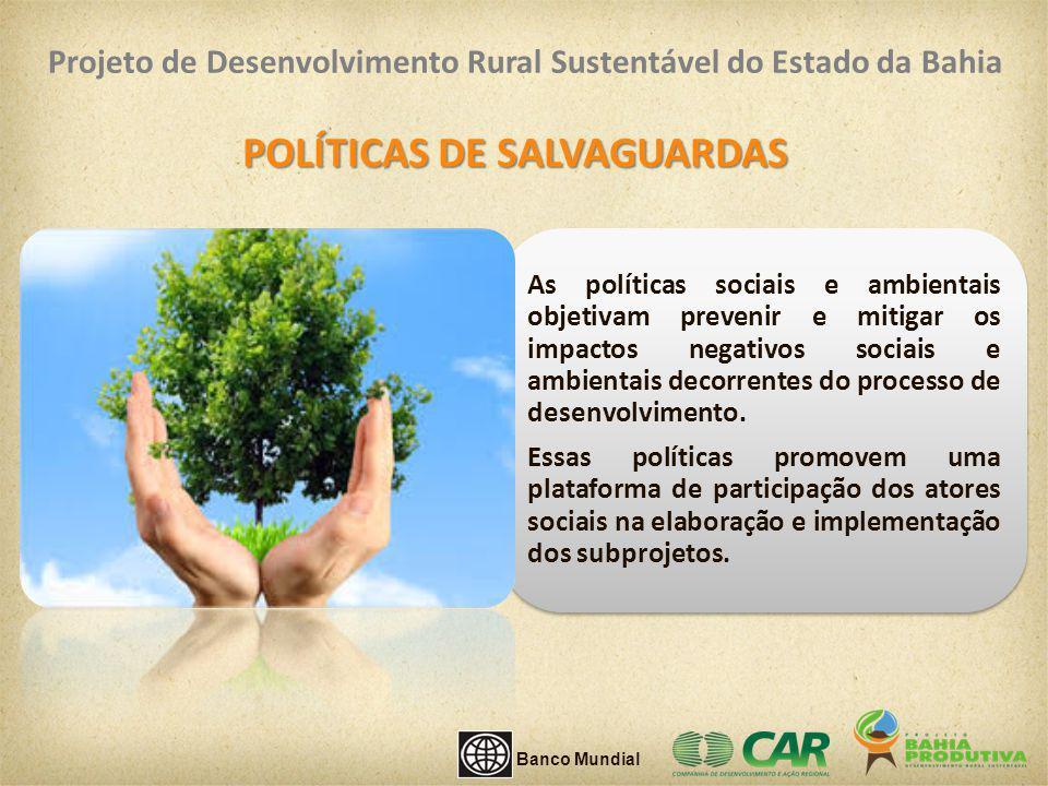 POLÍTICAS DE SALVAGUARDAS