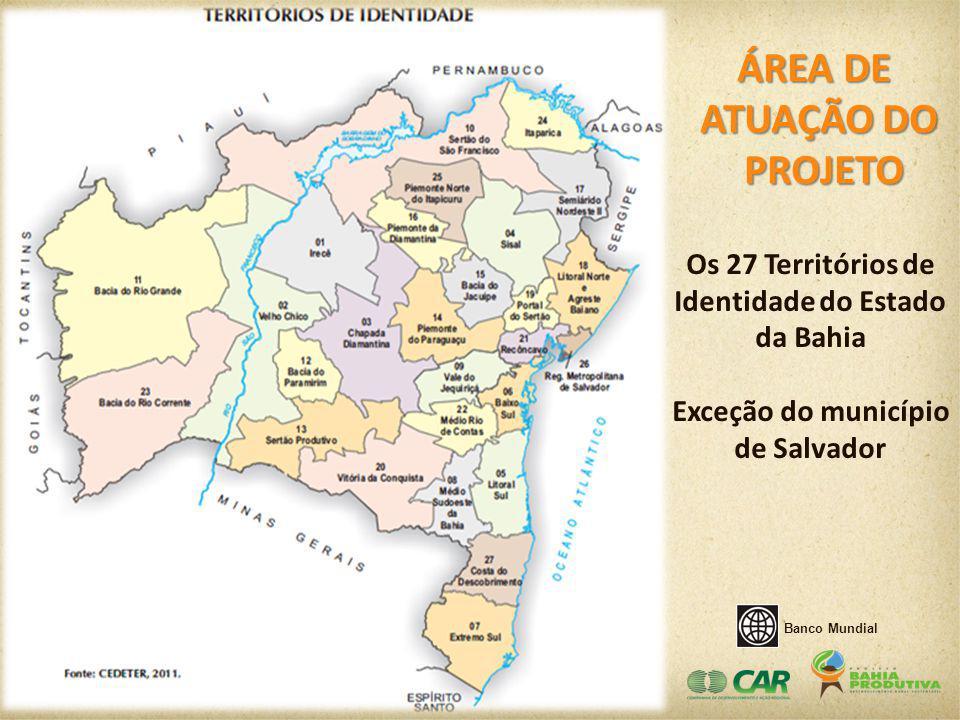 Identidade do Estado da Bahia Exceção do município de Salvador