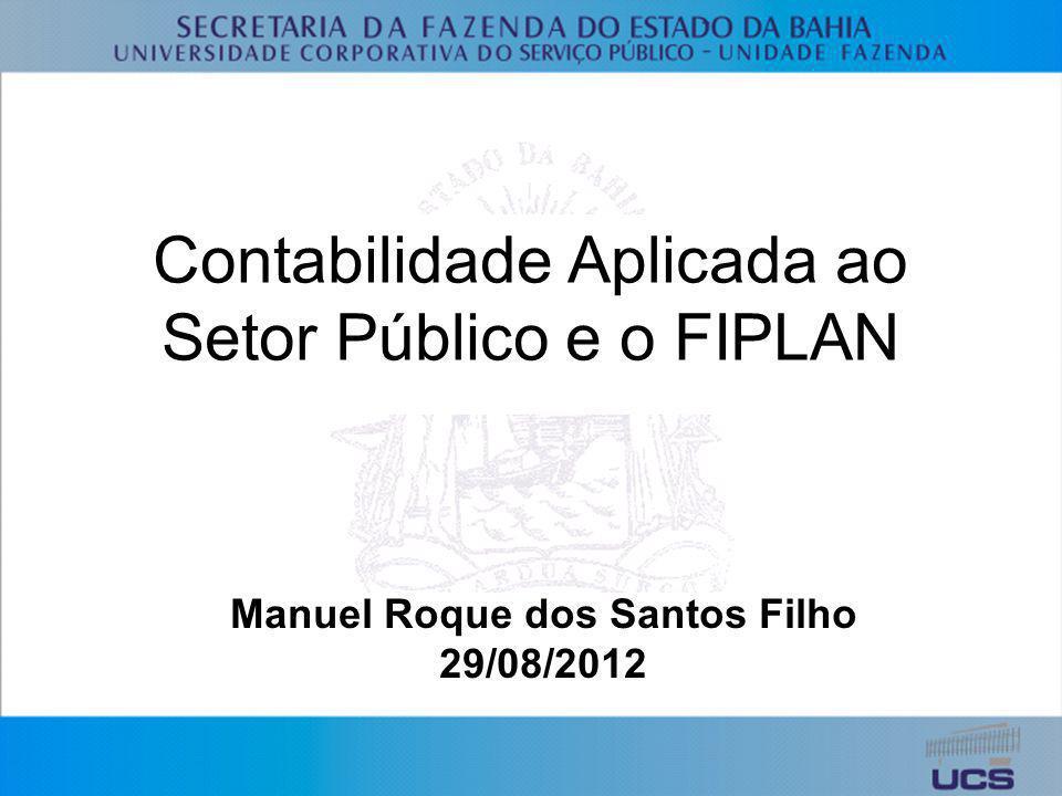 Contabilidade Aplicada ao Setor Público e o FIPLAN