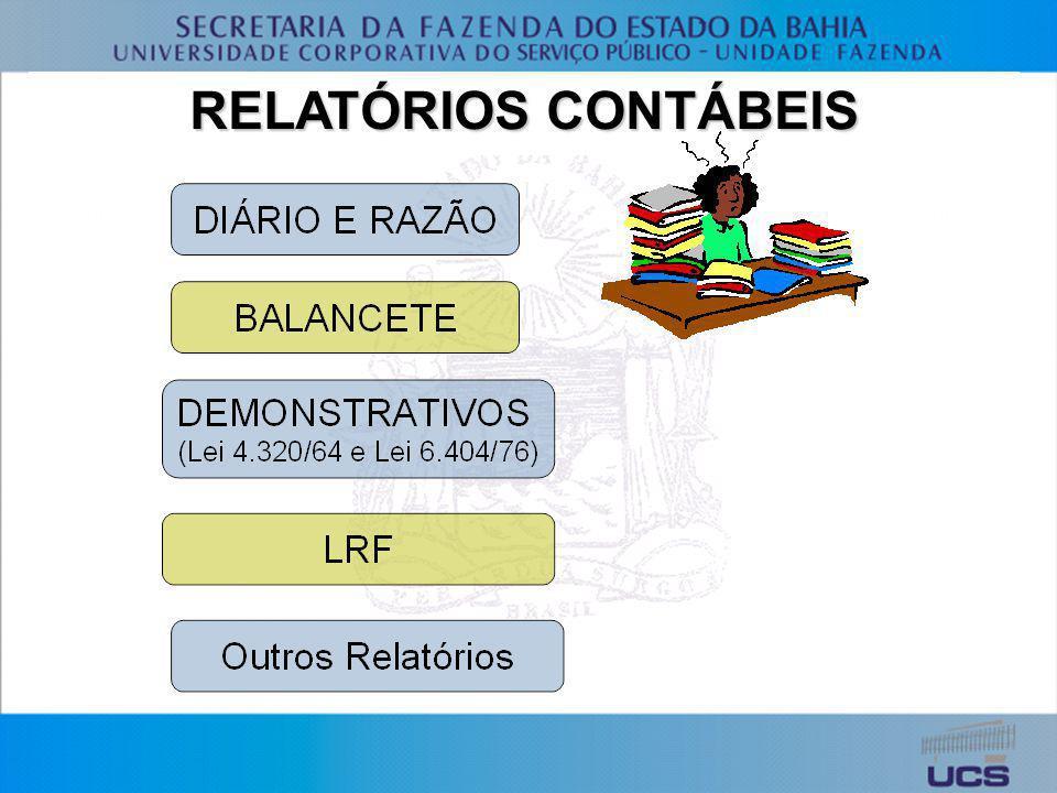 RELATÓRIOS CONTÁBEIS
