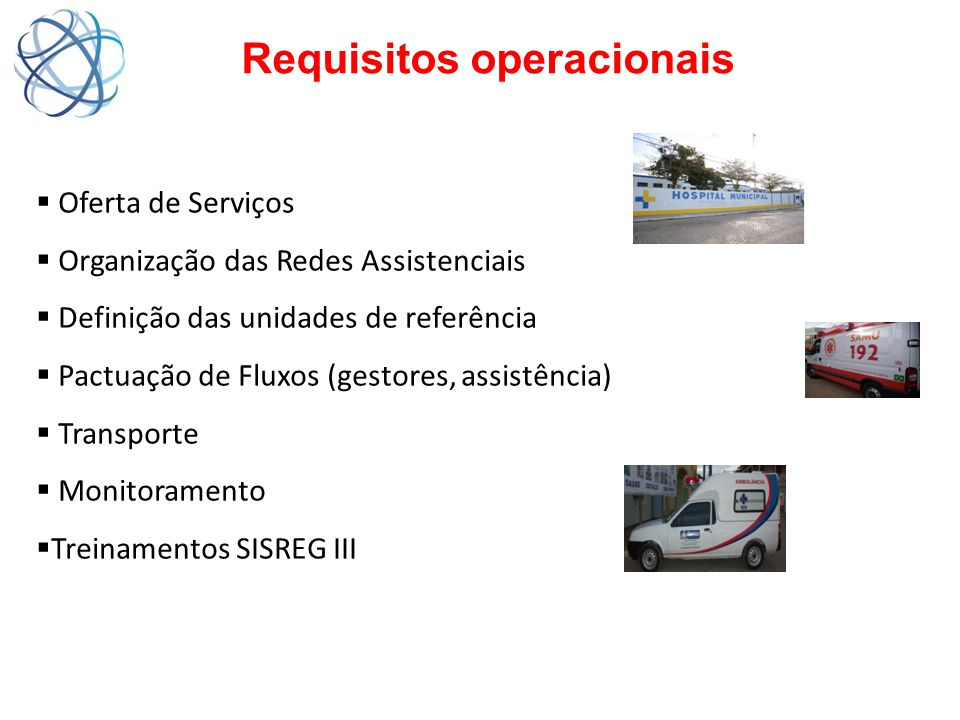 Requisitos operacionais