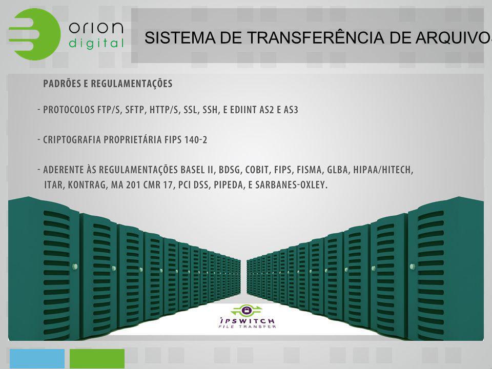 SISTEMA DE TRANSFERÊNCIA DE ARQUIVOS - HIPAA