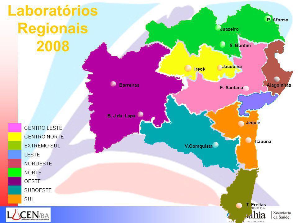 Laboratórios Regionais 2008