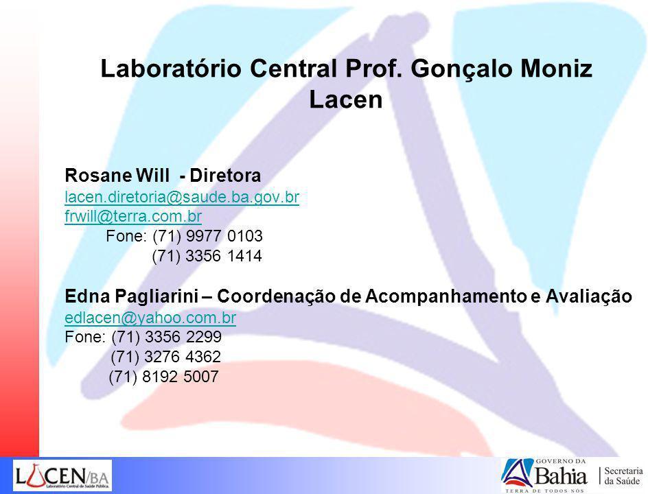 Laboratório Central Prof. Gonçalo Moniz