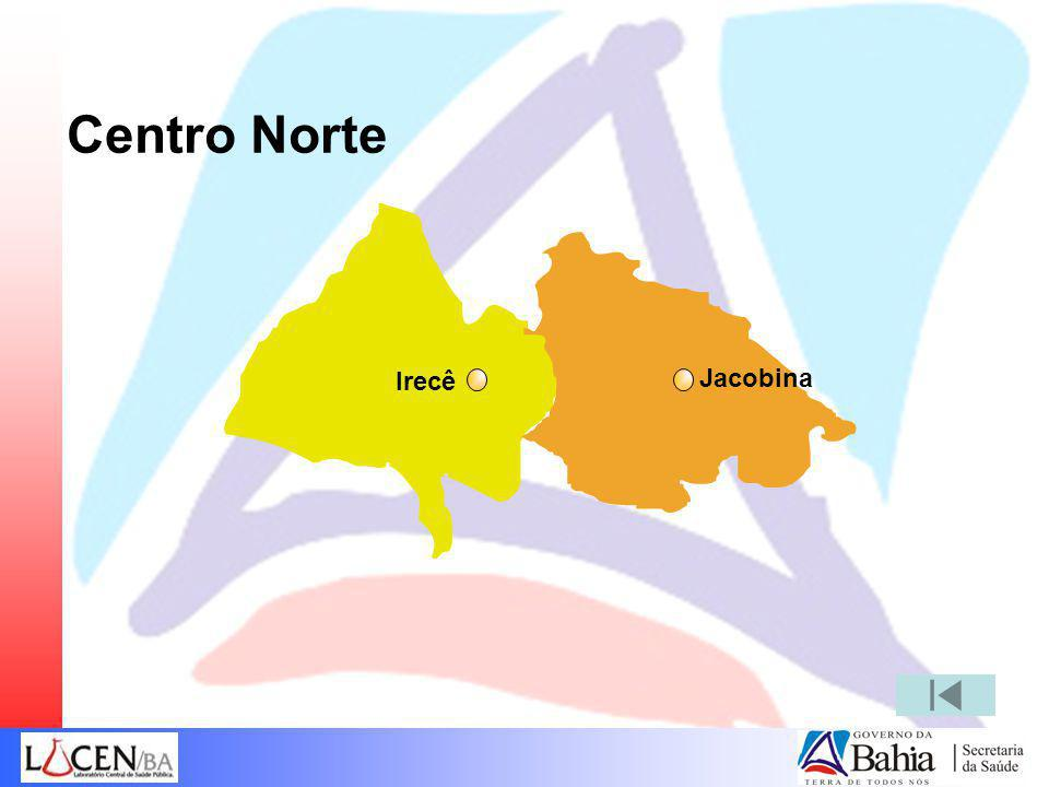 Centro Norte Jacobina Irecê