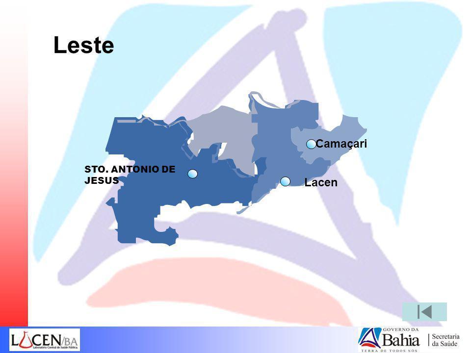 Leste Camaçari STO. ANTONIO DE JESUS Lacen