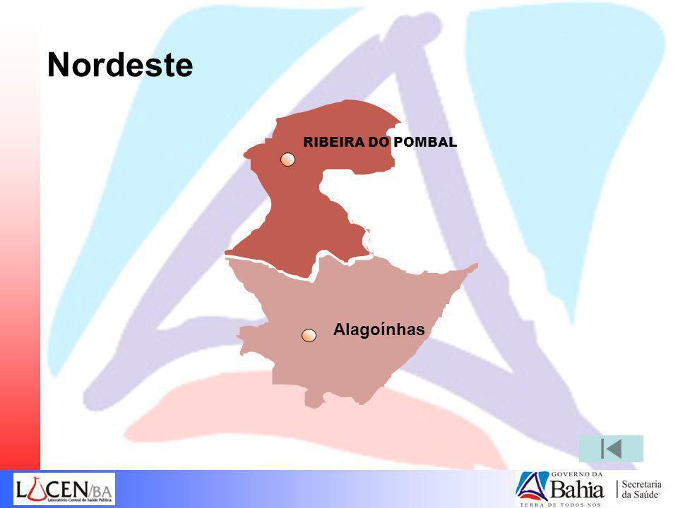Nordeste RIBEIRA DO POMBAL Alagoínhas