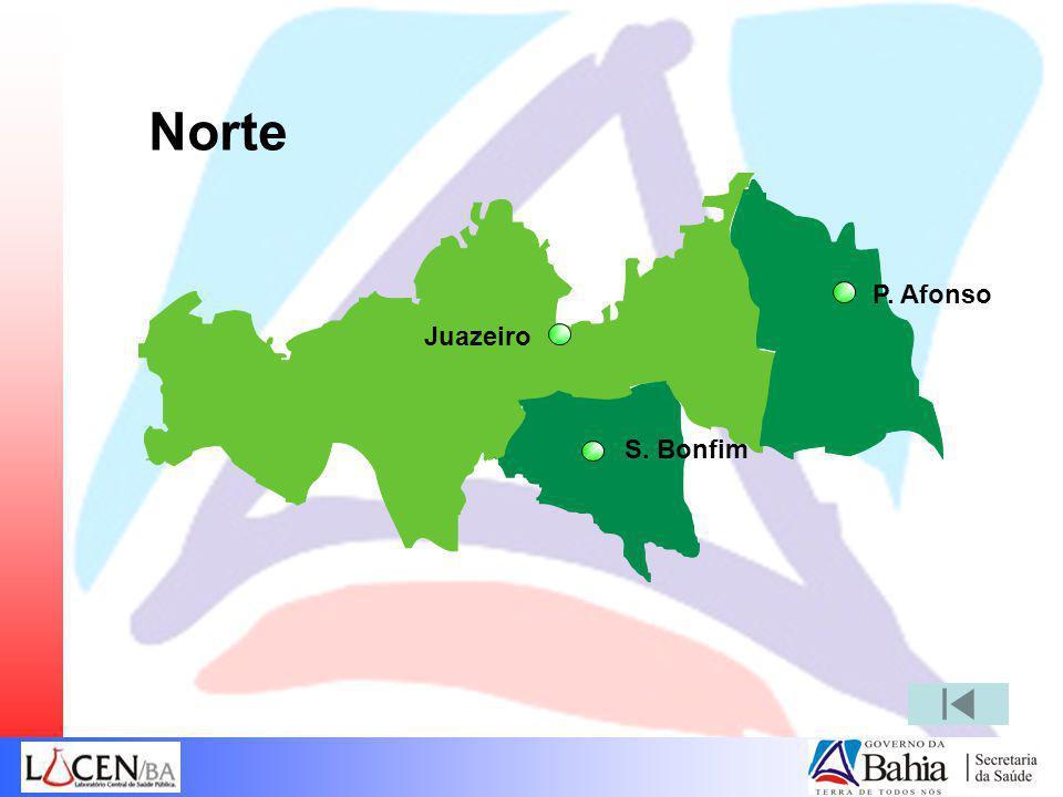 Norte P. Afonso Juazeiro S. Bonfim