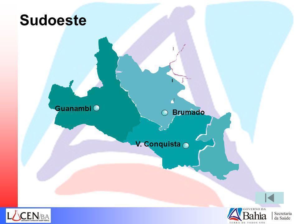 Sudoeste Guanambi Brumado V. Conquista