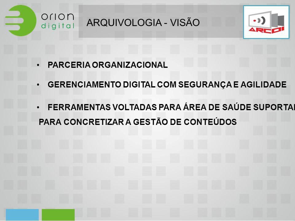 ARQUIVOLOGIA - VISÃO PARCERIA ORGANIZACIONAL