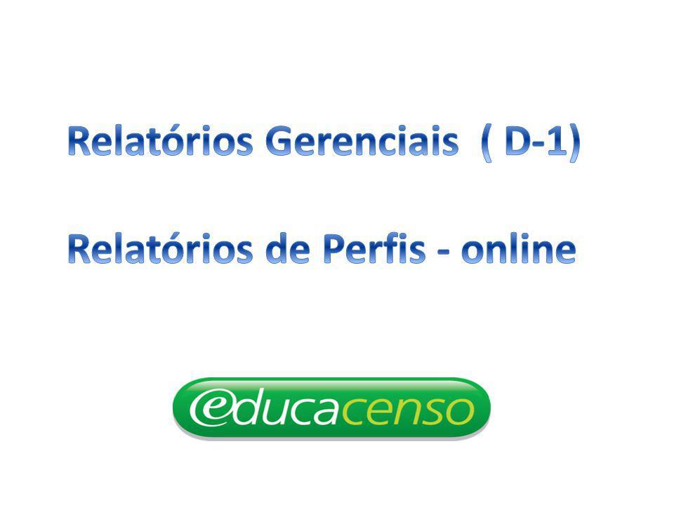 Relatórios Gerenciais ( D-1)