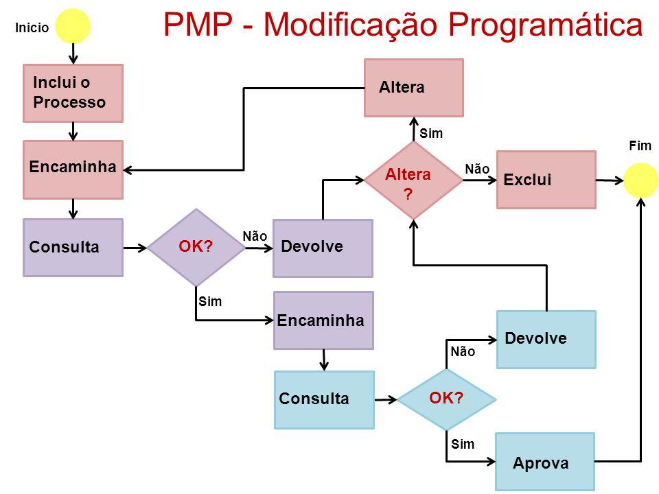PMP - Modificação Programática