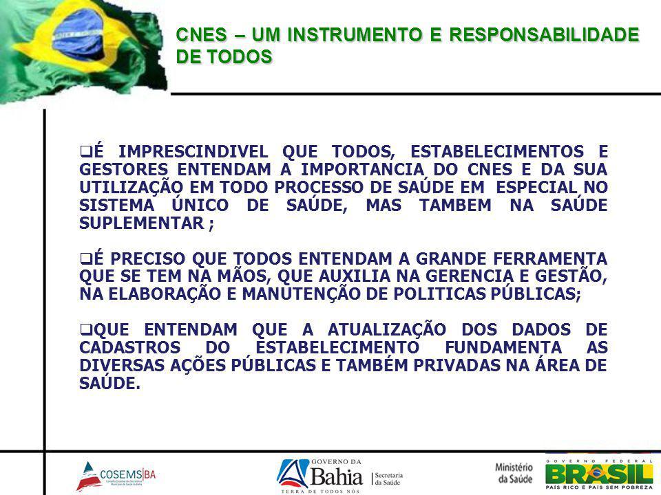CNES – UM INSTRUMENTO E RESPONSABILIDADE DE TODOS