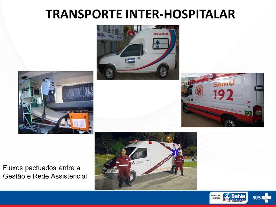 TRANSPORTE INTER-HOSPITALAR