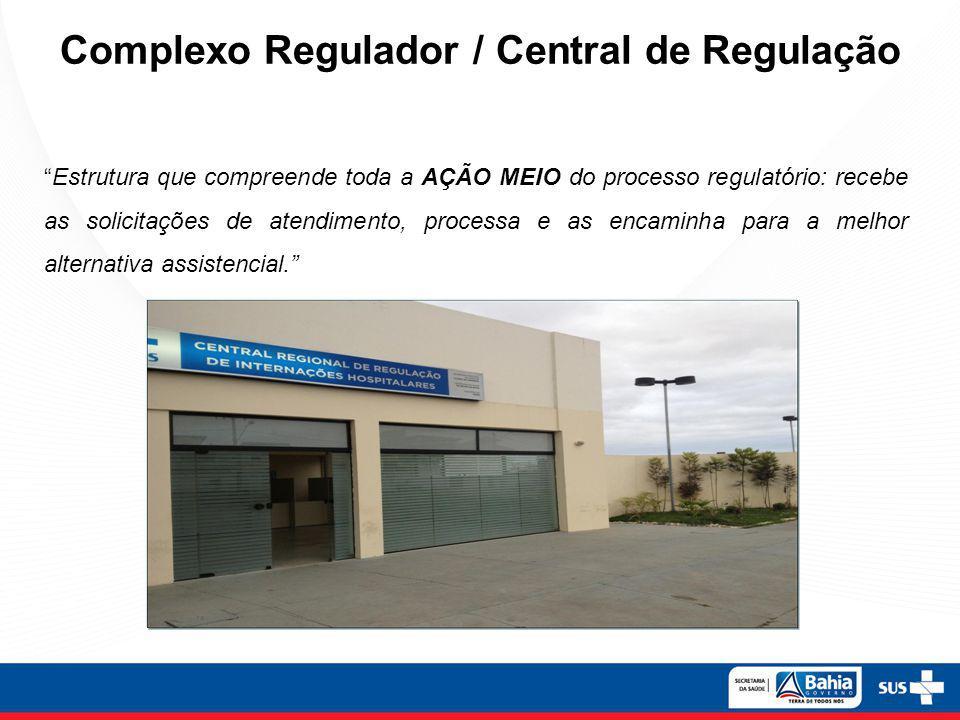 Complexo Regulador / Central de Regulação