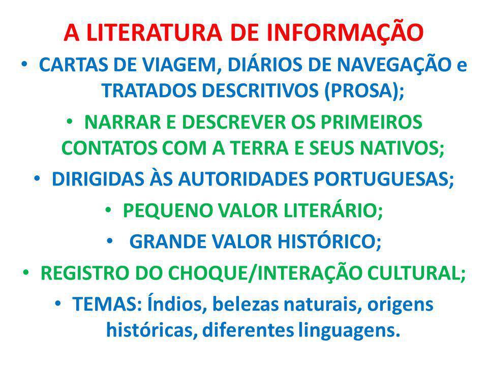 A LITERATURA DE INFORMAÇÃO