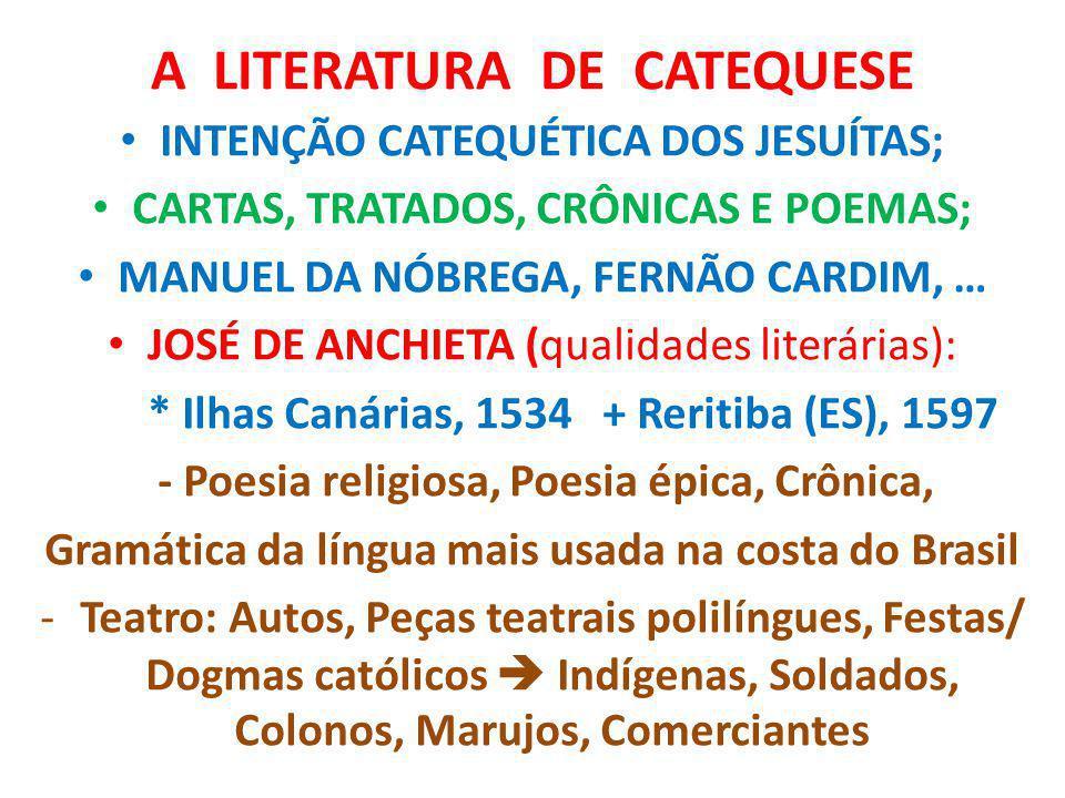 A LITERATURA DE CATEQUESE