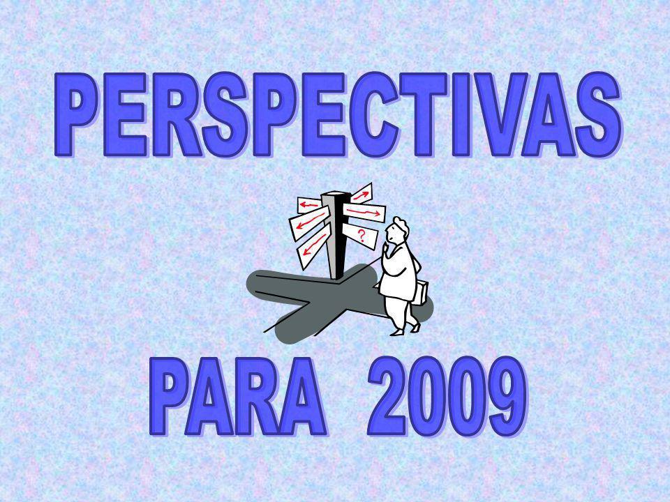 PERSPECTIVAS PARA 2009