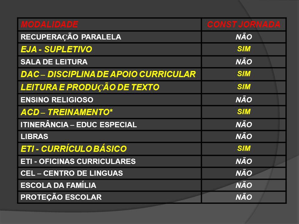 DAC – DISCIPLINA DE APOIO CURRICULAR LEITURA E PRODUÇÃO DE TEXTO