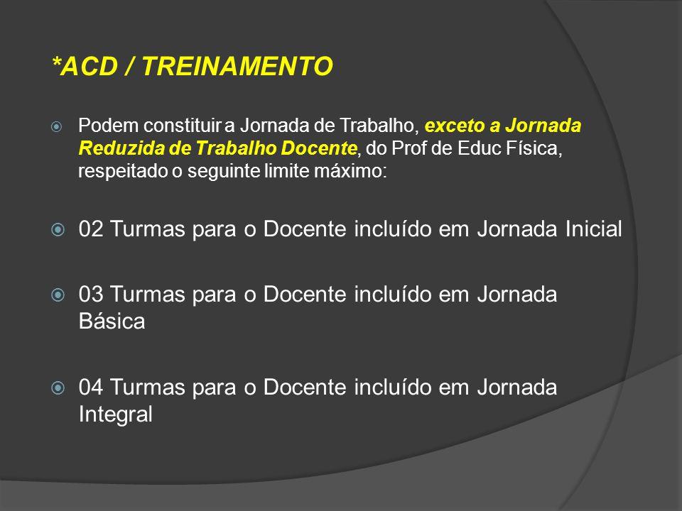 *ACD / TREINAMENTO