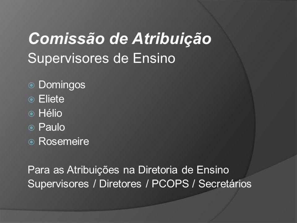 Comissão de Atribuição