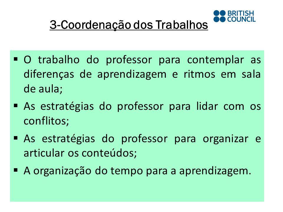 3-Coordenação dos Trabalhos