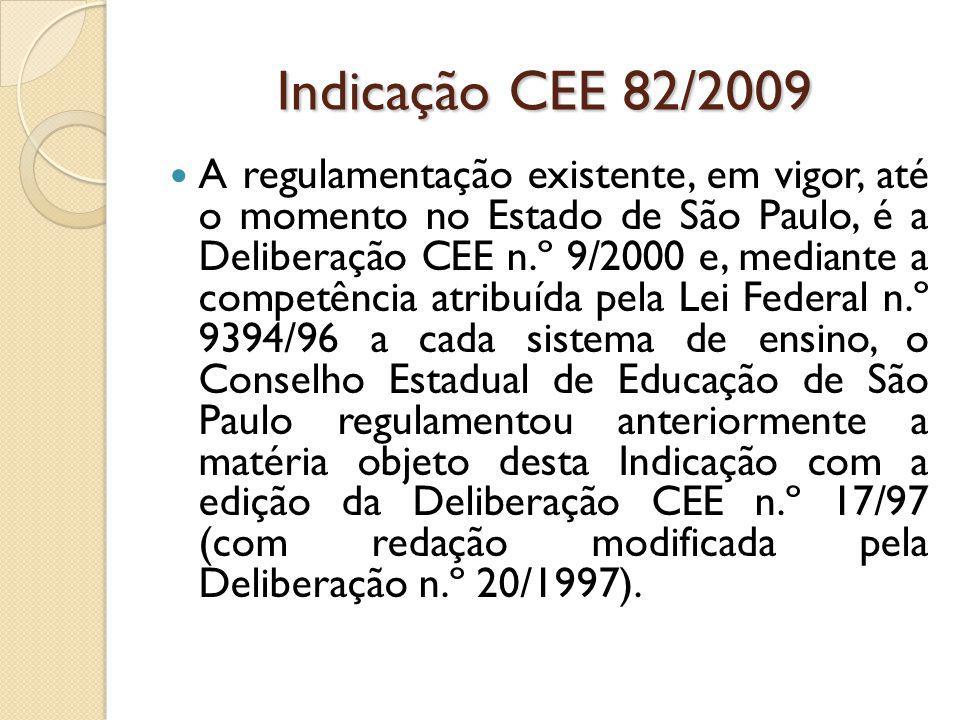 Indicação CEE 82/2009
